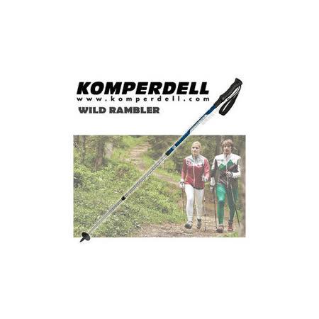 【KOMPERDELL奧地利】WILD RAMBLER 7075鋁合金輕量化登山杖(僅255g/雙支銷售)/無避震_ 1742424-10