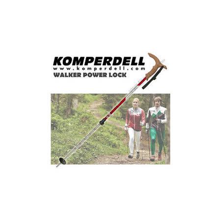 【KOMPERDELL奧地利】WALKER POWER LOCK 7075航太鋁合金T型把強力鎖定登山杖(僅240g))_1862420-10