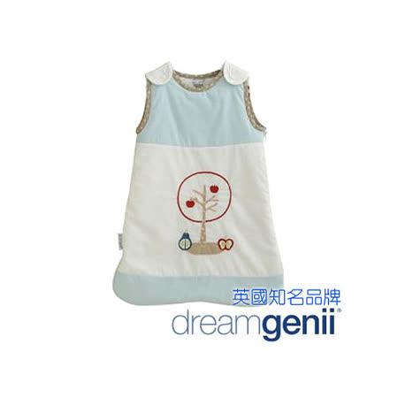 Dreamgenii 防踢被嬰兒睡袋 粉藍色水果 S 小號
