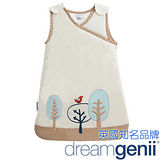 Dreamgenii 防踢被嬰兒睡袋 卡奇色紅鳥 S 小號