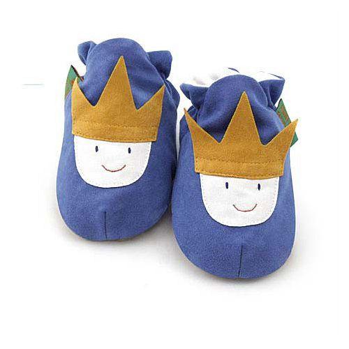 英國 Funky Feet 手工學步鞋 室內鞋 小王子 6-24M