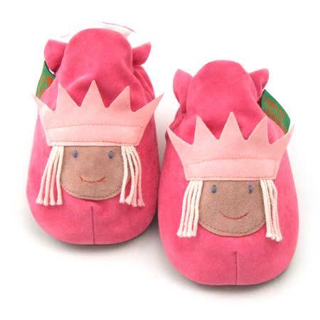 英國 Funky Feet 手工學步鞋 室內鞋 櫻桃小公主 6-24M