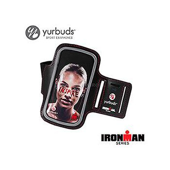 Yurbuds Armband運動專用SamsungS2/S3手機臂帶 黑/紅