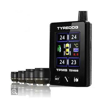 TYREDOG TPMS 胎外式 無線彩屏胎壓偵測器 \ TD-1400AX