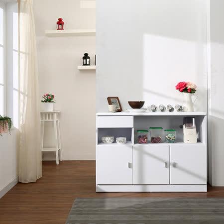 《BuyJM》艾薇兒三門一抽廚房收納櫃