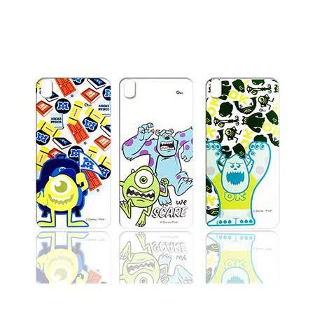 迪士尼授權正版 Disney HTC Desire 816 / d816x 透明彩繪軟式保護殼 手機殼(怪獸大學款)
