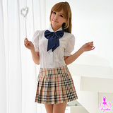 【Ayoka】經典款三件式學生角色扮演服