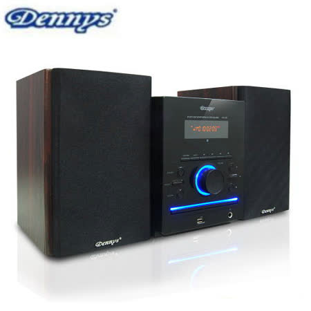 Dennys USB/FM/DVD組合音響送8G隨身碟(MD-380/2200)