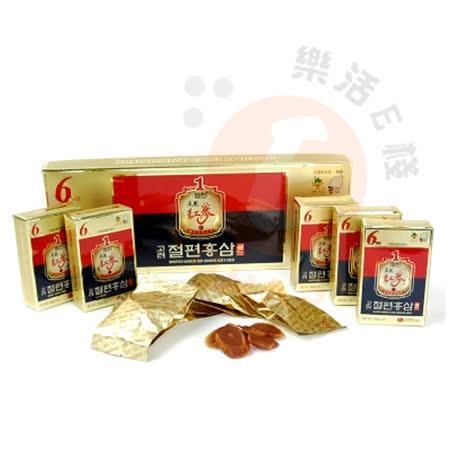 金蔘-6年根韓國高麗紅蔘蜜片(20g*5份/盒)
