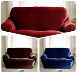 格藍傢飾-璀璨晶絨彈性沙發套2人座
