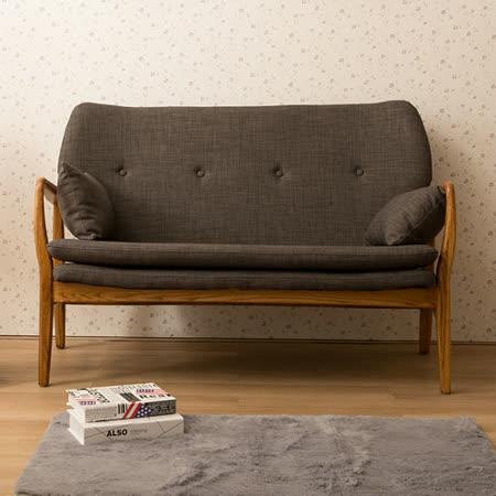 【日安家居】chlo`e克洛伊和風日作雙人椅(共二色)