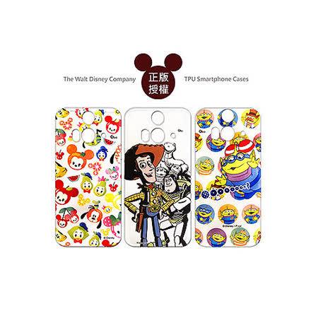 迪士尼授權正版 Disney HTC Butterfly 2 B810x 蝴蝶2 透明彩繪軟式保護殼 手機殼(玩具總動員/米奇款)