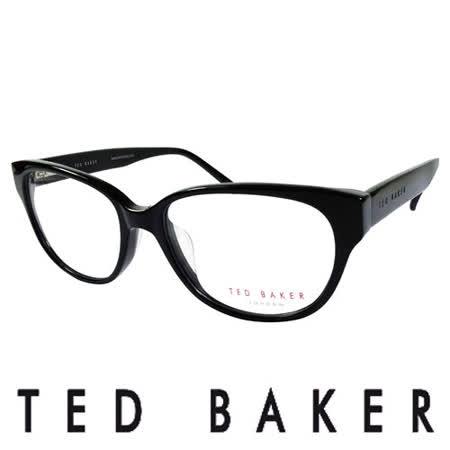 TED BAKER 倫敦質感時尚造型光學鏡框 (黑色) TB9053-001