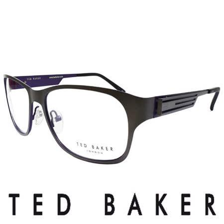 TED BAKER 倫敦玩酷金屬風格造型眼鏡 (藍) TB4189-913