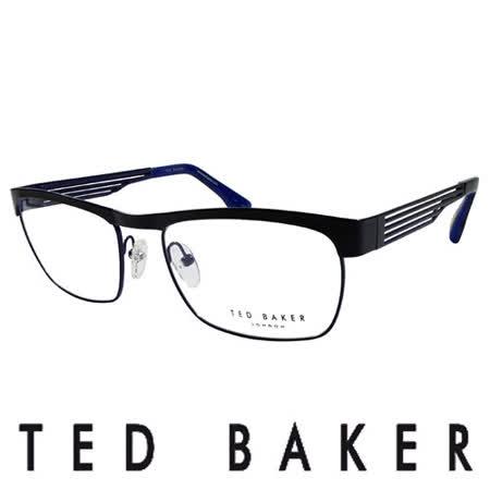 【好物分享】gohappy快樂購TED BAKER 倫敦簡約魅力流線造型眼鏡 (藍) TB4182-001價錢愛 買 景 美 店
