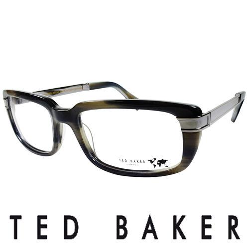 TED BAKER 英國城市魅力 眼鏡^(灰^) TBG013~908