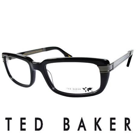 TED BAKER 英國城市魅力造型眼鏡(黑) TBG013-001
