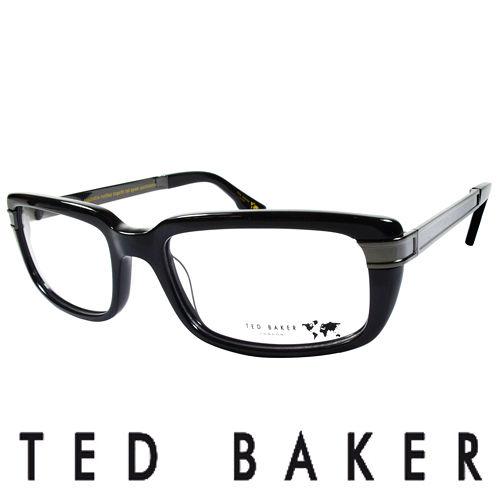 TED BAKER 英國城市魅力 眼鏡^(黑^) TBG013~001