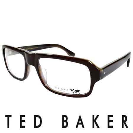 TED BAKER 倫敦經典個性造型眼鏡 (咖啡) TBG012-170