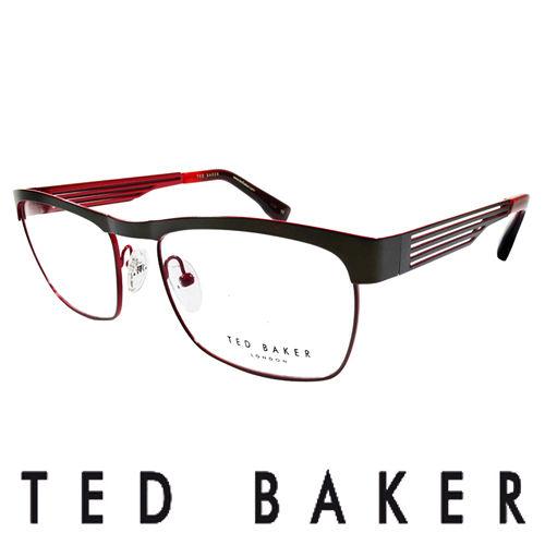 TED BAKER 倫敦簡約魅力流線 眼鏡 ^(紅^) TB4182~925