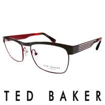TED BAKER 倫敦簡約魅力流線造型眼鏡 (紅) TB4182-925