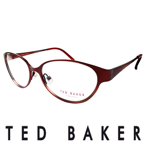TED BAKER 英倫魅力 風格 眼鏡 ^(紅^) TB2193~239