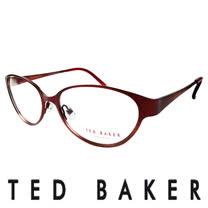 TED BAKER 英倫魅力時尚風格造型眼鏡 (紅) TB2193-239