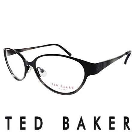 TED BAKER 英倫魅力時尚風格造型眼鏡 (黑) TB2193-001