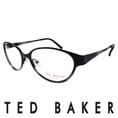 TED BAKER 英倫魅力 風格 眼鏡 ^(黑^) TB2193~001