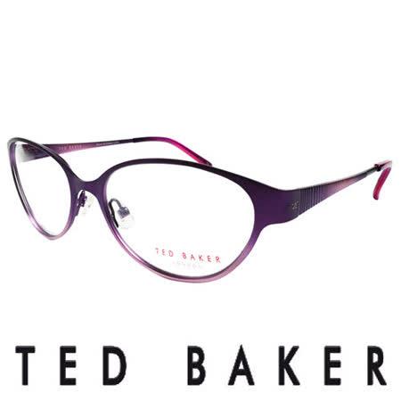 TED BAKER 英倫魅力時尚風格造型眼鏡 (紫) TB2193-771