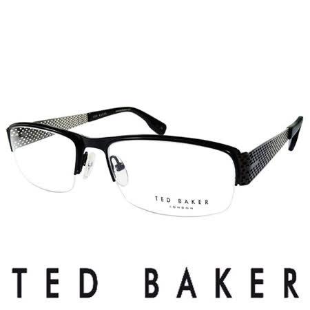 TED BAKER 英國時尚金屬造型光學眼鏡 (銀) TB4188-001