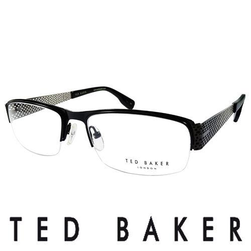 TED BAKER 英國 金屬 光學眼鏡 ^(銀^) TB4188~001