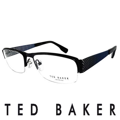 TED BAKER 英國 金屬 光學眼鏡 ^(藍^) TB4188~919