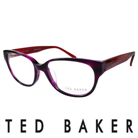 TED BAKER 倫敦質感時尚造型光學鏡框 (紅) TB9053-765
