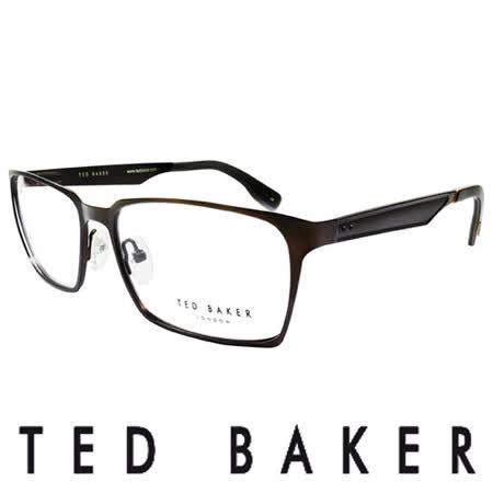 TED BAKER 英倫簡約個性造型光學鏡框 (咖啡) TB4193-137