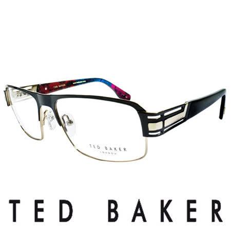 TED BAKER 英倫簡約風格造型光學鏡框(金) TB4194-004