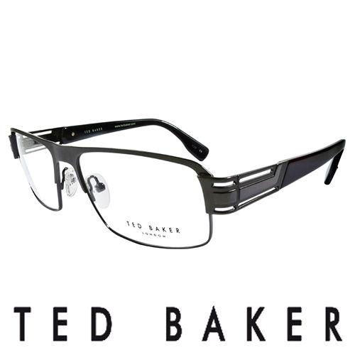 TED BAKER 英倫簡約風格 光學鏡框^(黑^) TB4194~961