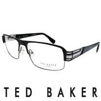 TED BAKER 英倫簡約風格造型光學鏡框(灰) TB4194-001