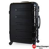 【法國 奧莉薇閣】20吋風華絕色PC鏡面 黑色 輕量登機箱/行李箱