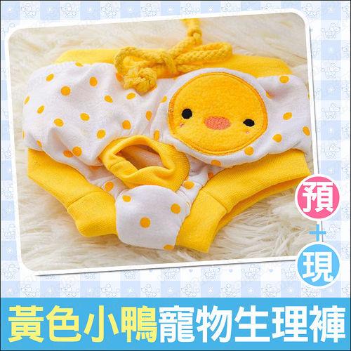Petco~黃色小鴨圓點寵物生理褲~母狗發情期 ^!