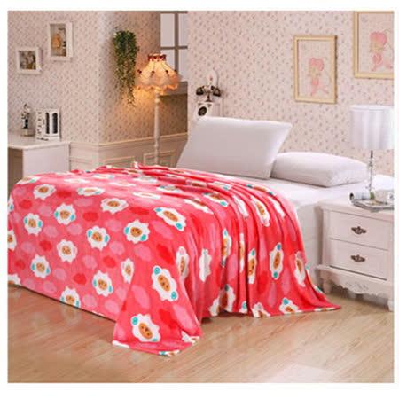 【PS Mall】保暖舒適兩用毯 加厚 長絨 披墊蓋 法蘭絨毯 (J1344)