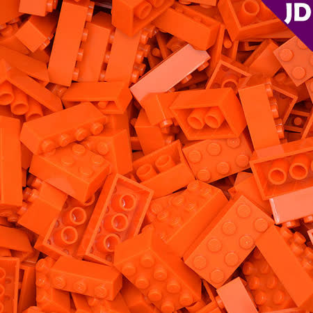 【FY積木大師】300克積木顆粒-橘色