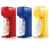 英國SodaStream PLAY氣泡水機(二色可選)(加碼送膠囊糖漿3盒-口味隨機)