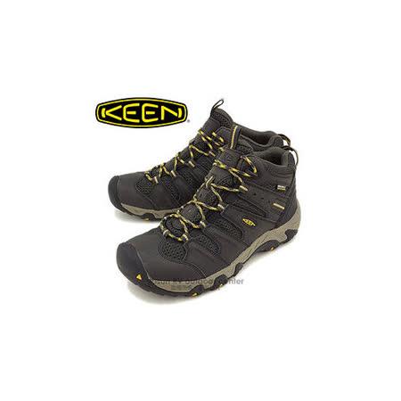 【美國 Keen】男新款 KOVEN MID WP 專業防水透氣中筒健行鞋_深灰 1011198