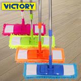 【VICTORY】雪尼爾/除塵佳/吸水強/柔細/平板拖(3拖6布)