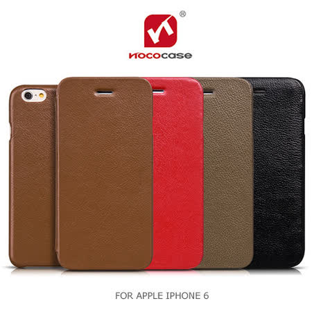 HOCO APPLE iPhone 6 4.7吋 鉑金系列 磁吸側翻皮套