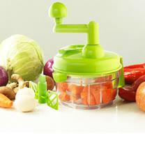 PUSH!廚房用品 餡料處理機 切菜器 碎菜器 食物料理機