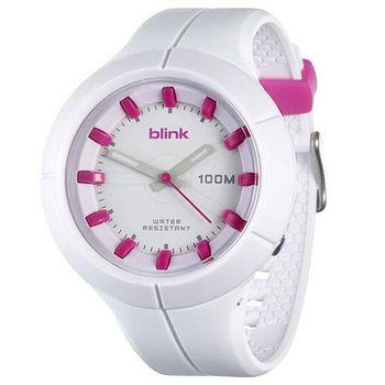 JAGA  捷卡 blink 果凍繽紛潮流防水指針錶 AQ1008-D