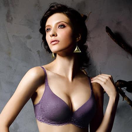 【華歌爾】新隱絲系列B-C罩杯無痕內衣(葡萄紫)