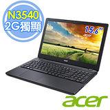 Acer E5-511G 15.6吋 N3540 四核 2G獨顯 Win8.1 筆電(黑色)–送靜電除塵器+水療按摩器